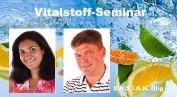Abendveranstaltung Vitalstofftherapie in Darmstadt