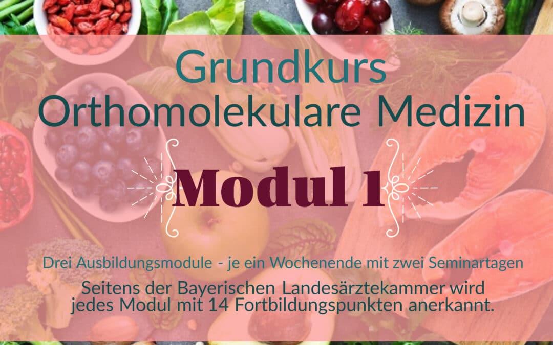 Grundkurs Orthomolekulare Medizin – Modul I – Herbst