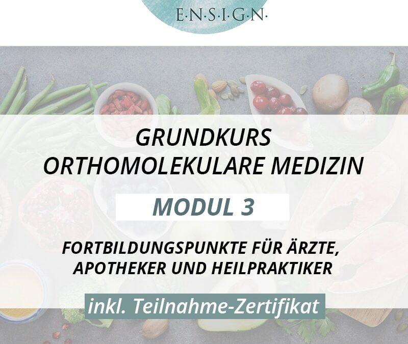 Grundkurs Orthomolekulare Medizin – Modul III – Herbst
